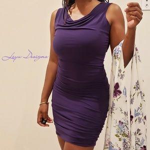 Grape Vine Midi Dress